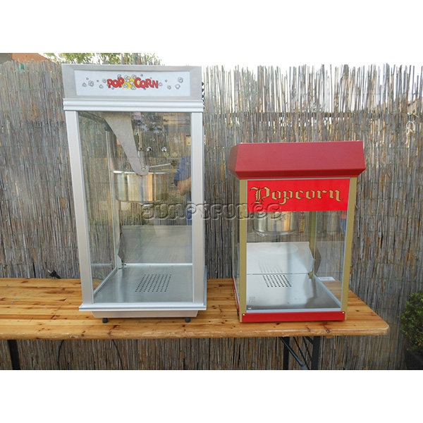 diverse popcornmachines te huur