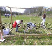 huur een elastiek kooi voor uw teambuilding